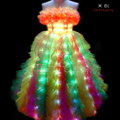 LED Angel Dresses Light Up Costume Dress